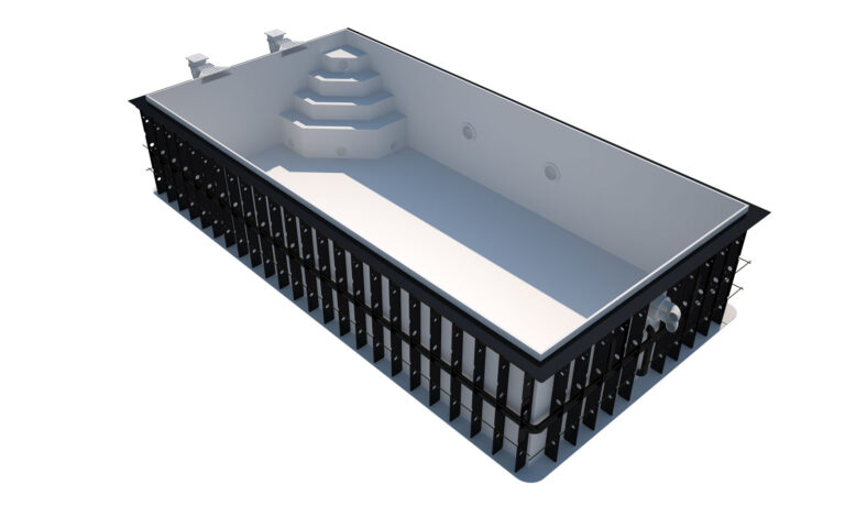 Plastový bazén COMO
