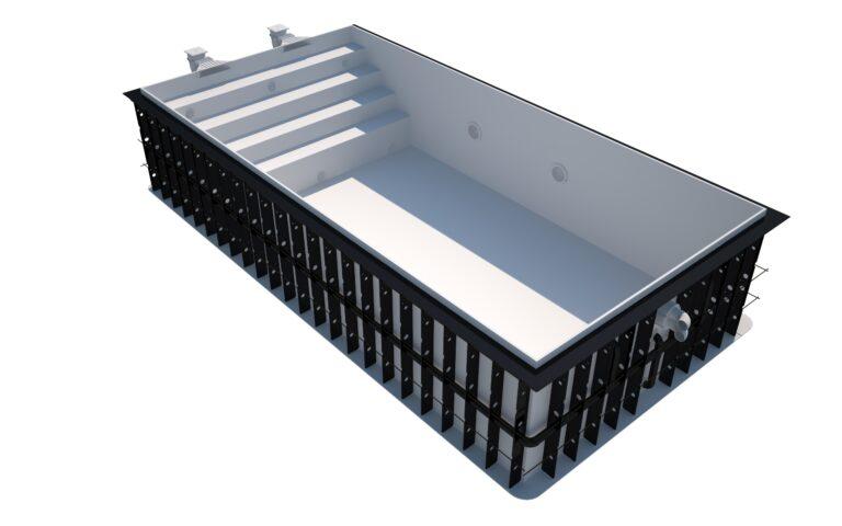 Plastový bazén MONZA